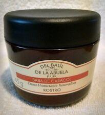 Crema baba de caracol-Del Baul De La Abuela snail slime facial cream 145g