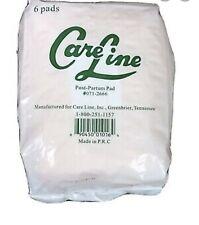 Care Line Post-Partum Pad 6ct #071-2666