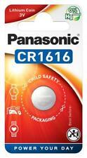 1 x Panasonic CR1616 3V Lithium Coin Battery 1 Pack Batteries - CR-1616EL