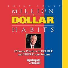 NEW 6 CD Million Dollar Habits Brian Tracy (NIGHTINGALE CONANT)
