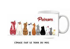 mug tasse ceramique chat rigolo personnalisé licorne réf 423