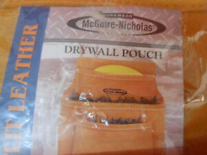 MCGUIRE-NICHOLAS LEATHER  DRYWALL TOOL POUCH 2 PACK