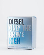 DIESEL ONLY THE BRAVE HIGH EDT 50ml RETAIL SEALED BOX  RRP £45.50 FREE POST