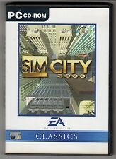 (GW105) Sim City 3000 - 1999 Game CD
