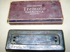 bella vecchio Wehrmacht armonica Tremolo Hugo Raumer Wehrmacht WK II Mundi
