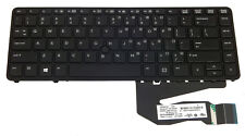 Keyboard w/dura Keys, puntamento St. for HP EliteBook 840 g1, US layout 730794-001