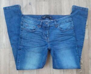 BNWT Ladies size 12 P NEXT jeans  Skinny stretch Waist 30 leg 27 denim blue new