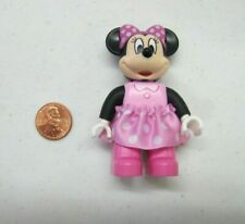 "LEGO DUPLO MINNIE MOUSE FIGURE Disney Fabric Skirt 2.5"" Excellent Condition #2"