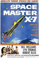 SPACE MASTER X-7 1958 DVD-r