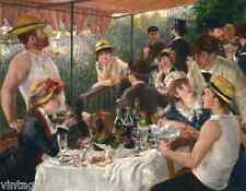 Luncheon of the Boating Party by Auguste Renoir - Food Wine 8x10 Print 0029