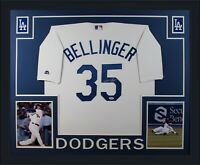 Cody Bellinger Autographed Los Angeles Dodgers Baseball Framed Jersey PSA DNA