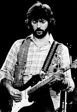 Eric Clapton Poster, Playing the Guitar, Live in Concert