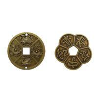 2 X chinesische Glücksmünze Feng Shui Münzen perfekt als Geschenk