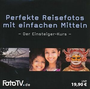 DVD Rom Fotokurs Fotoguide Perfekte Reisefotografie mit einfachen Mitteln FotoTV