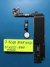 Motherboard for iPhone 7 32GB Rose Gold (read description)
