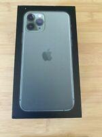 RETAIL BOX - Apple iPhone 11 Pro Max- 64GB / Midnight Green - NO DEVICE