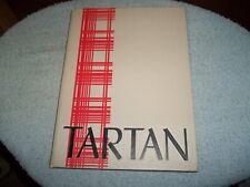1962 CLIFFORD J SCOTT HIGH SCHOOL YEARBOOK EAST ORANGE NJ TARTAN