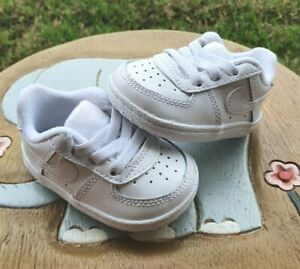 Nike Air Force 1 WHITE BRAND NEW Toddler 1C & 2C