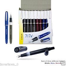 10pcs Dollar 717i piston filler classic  Fountain Pen (10 Piece)