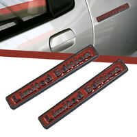 Universal 3D Metal Decal Limited Edition Car Auto Emblem Side Badge Sticker