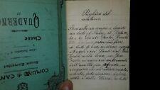prezioso ed antico quaderno di preghiere