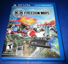 Freedom Wars Sony PlayStation Vita - PSV - *Factory Sealed! *Free Shipping!
