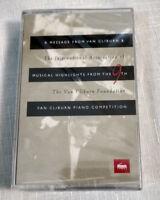 Rare Sealed Cassette Tape Van Cliburn Piano Competition Foundation Private Class