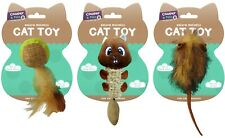Coopers & Pals Cat Toys, Toy Bird, Toy Mouse, Toy Squirrel