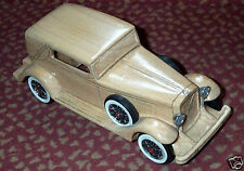 wonderful  woodden modelcar VOLVO PV 655 NORRMALM CONVERTIBLE 1936, 1/20