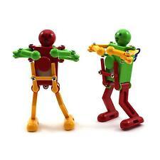 Mini Plastic Clockwork Child Adult Dance Dancing Robert Wind Up Development Toy