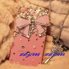 Bling iphone 5 Case Crystal iphone 5 case Pearl iphone 5 case Pink Case Pink Bow