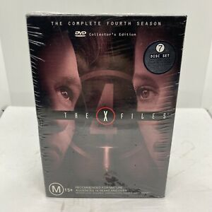 The X Files Complete Fourth Season 4 Collectors Edition Brand New Free Postage