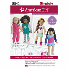 """18-inch Doll """" American Girl """" Variety Sewing Pattern # 8042"""