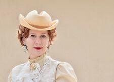 Vintage Women Ruth Alan Designs Rolled Brim Hat Sz S