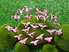10 Pcs Miniature Dollhouse Fairy Garden Accessories Terrarium Tiny Flamingo #A16