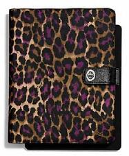 Leather Coach iPad 2 Tablet & eBook Folding Folio Cases