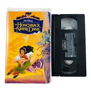 The Hunchback of Notre Dame (VHS 1997) Disney's Masterpiece Edition