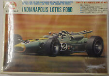 Vintage AHM Indianapolis Lotus Ford wind Up Motorized 1/32 Scale Plastic Model