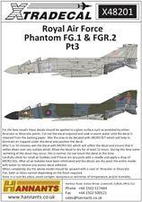 Xtradecal 48201 Decals 1/48 McDonnell-Douglas Phantom FG.1/FGR.2 (5)