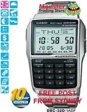 AUSSIE SELLER CASIO CALCULATOR DATABANK DBC-32D-1A DBC32D DBC32 12 MNTH WRANTY