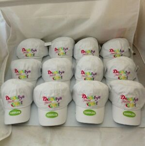"""(12) """"DADDY'S FISHIN GIRL"""" Toddler Fishing Cap Outdoor Wholesale Lot Resale Caps"""
