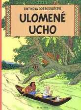 Tintin L'oreille cassée Hergé album Tchèque CZECH EO étrangère Edition originale