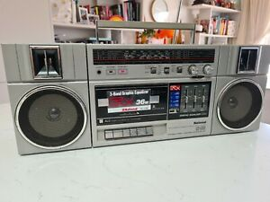 NATIONAL RX-C39 BOOMBOX GEHTTO BLASTER POTABLE STEREO CASSETTE