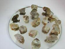 505 crt %100 natural GEMSTONE colorchange DIASPOREcrystal mineral specimn 18 pc