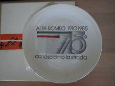 Alfa Romeo 1910-1985 commemorative plate