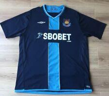 West Ham Shirt Away Jersey Original Umbro 2009 2010 Size XXL Excellent Condition
