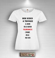 Camiseta Frases Divertido Marca Scotch Amor Vita Verano Rassegnazione Hombre