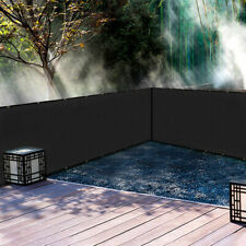 Outdoor Fence Privacy Screen Heavy Duty Easy Install UV Protection Mesh Deck