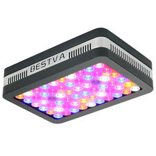 BESTVA Reflector 600W Best Full Spectrum LED Grow Light with VEG Bloom Switch