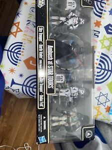 New - AMBUSH AT STAR TOURS - 4-Pack Star Wars SKY TROOPERS Darth Vader BOBA FETT